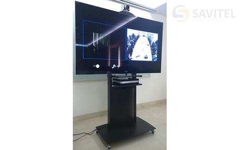 Kệ đặt thiết bị truyền hình và tivi (65-75inch) mẫu 04 4