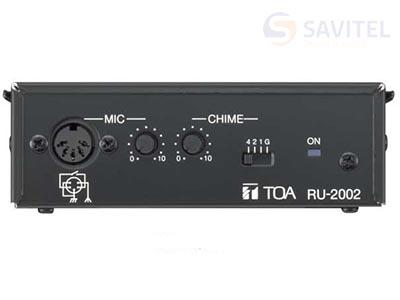 Bộ điều khiển khuếch đại PM-660 TOA RU-2001 2
