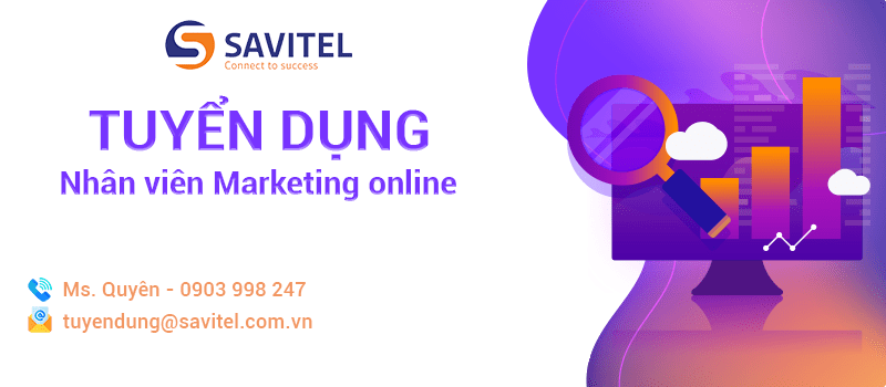 [HCM] SAVITEL - tuyển dụng nhân viên marketing online – seo – website - design 2