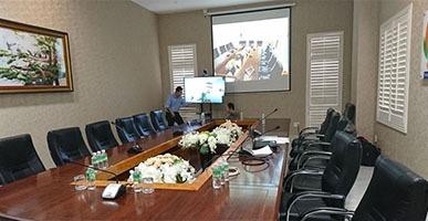 Phòng họp trực tuyến công ty Khatoco