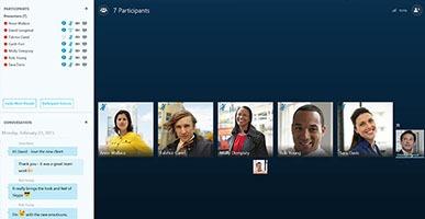 Mô hình giải pháp họp trực tuyến qua Skype
