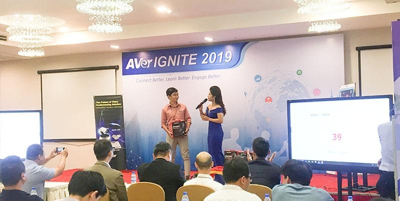SAVITEL tham dự AVer Ignite 2019