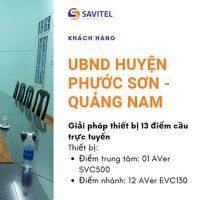 Triển Khai Giải Pháp Họp Trực Tuyến UBND Huyện Phước Sơn – Quảng Nam