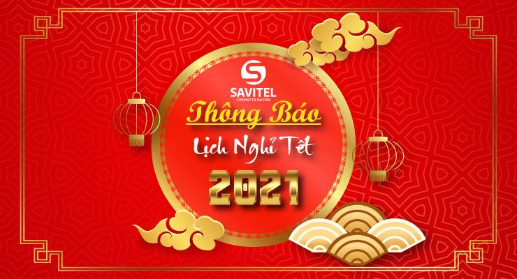 THÔNG BÁO NGHỈ TẾT NGUYÊN ĐÁN 2021 7